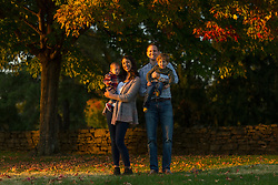 Sara, Nate, Patrick and Mason Clark posed for family photos, Monday, Oct. 24, 2016 at Hurstbourne Country Club in Louisville.