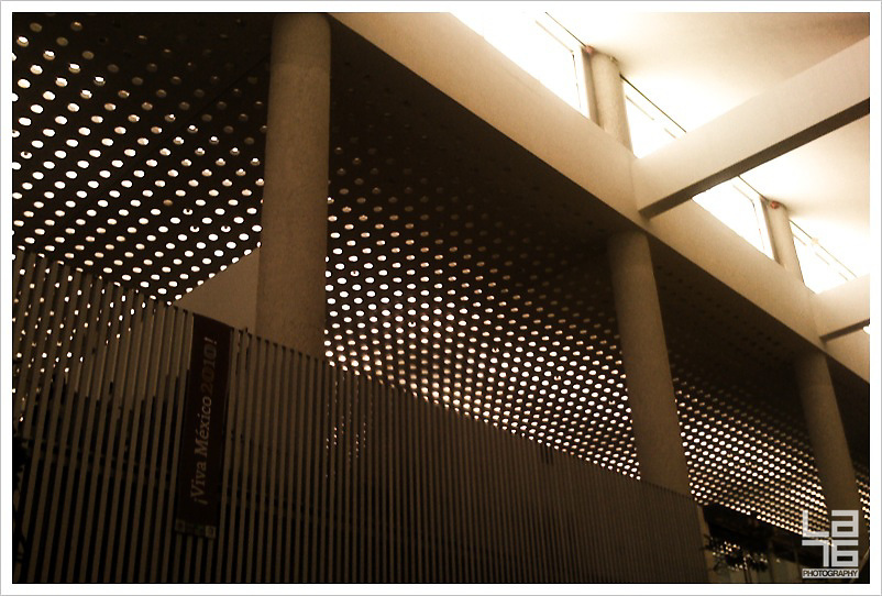 T2 Mexico Benito Juarez airport, aeropuerto, facade, patterns