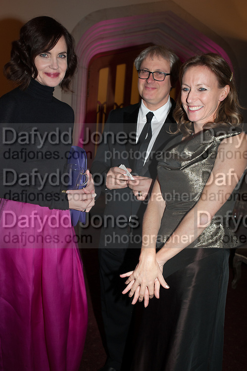 ELIZABETH MCGOVERN; ALLIE ESIRI, The Secret Winter Gala in aid of Save the Children and sponsored by Bulgari. Guildhall. London. 26 November 2013