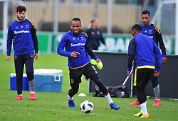 Cape Town--180329 Cape Town City defender Dove Edmilson at training preparing for heir Nedbank Cup game against Sundowns on sunday  .Photographer;Phando Jikelo/African News Agency/ANA
