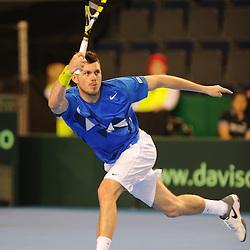 Great Britain v Belgium | BNP Paribas Davis Cup | 08 April 2012