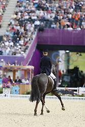 Langehanenberg, Helen, Damon Hill<br /> London - Olympische Spiele 2012<br /> <br /> Dressur Grand Prix de Dressage<br /> © www.sportfotos-lafrentz.de/Stefan Lafrentz