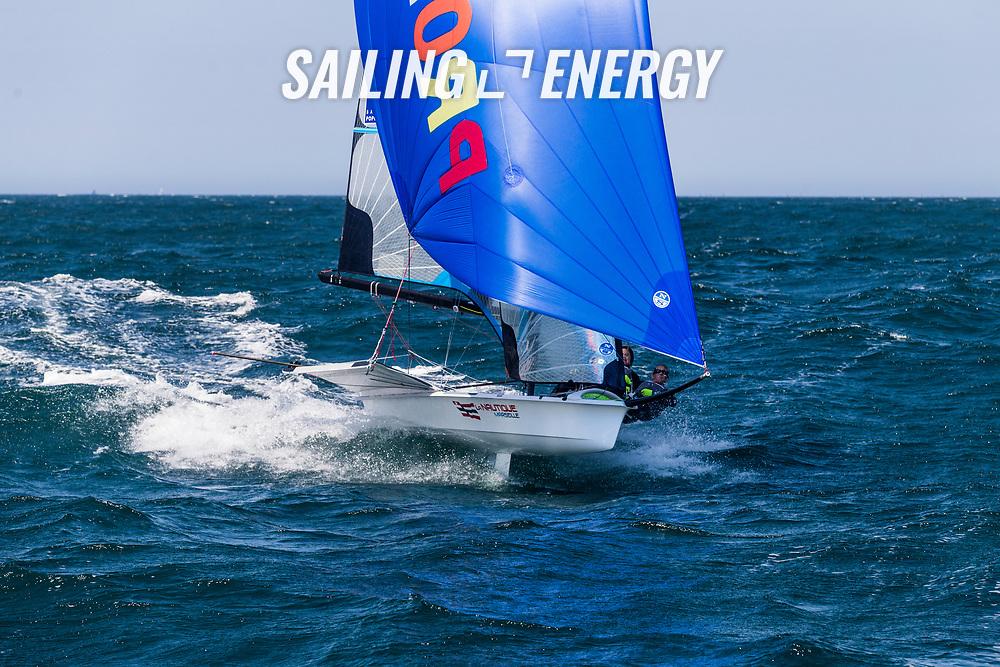 2017 49er &amp; 49erFX World Championship <br /> &copy; Pedro Martinez / Sailing Energy
