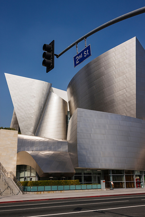 Frank Ghery designed and supported by donations from Lillian Disney, Opened in 2003