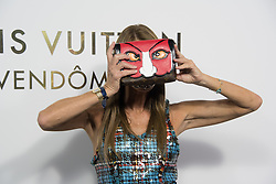 Anna Dello Russo attending the Opening Of The Louis Vuitton Boutique as part of the Paris Fashion Week Womenswear Spring/Summer 2018 in Paris, France, on October 2, 2017. Photo by Alban Wyters/ABACAPRESS.COM