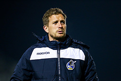 Bristol Rover U18 manager Lee Mansell looks on after a penalty shootout victory - Rogan/JMP - 02/11/2017 - FOOTBALL - Memorial Stadium - Bristol, England - Bristol Rovers U18 v Forest Green Rovers U18 - FA Youth Cup 1st Round.