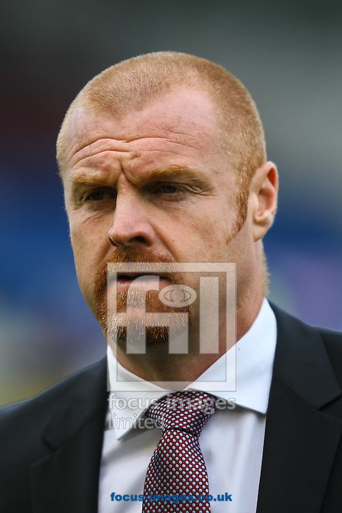 Burnley manager Sean Dyche during the Barclays Premier League match at Turf Moor, Burnley<br /> Picture by Daniel Chesterton/Focus Images Ltd +44 7966 018899<br /> 18/10/2014