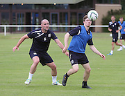 James McPake and Craig Wighton - Dundee pre-season training<br /> <br />  - &copy; David Young - www.davidyoungphoto.co.uk - email: davidyoungphoto@gmail.com