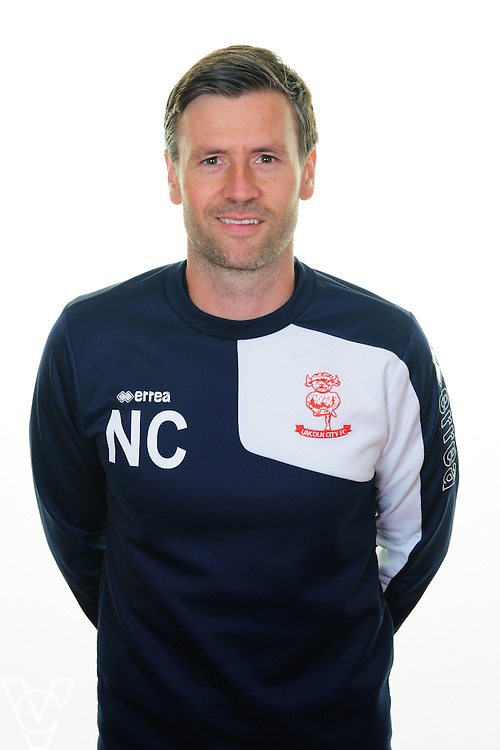 Lincoln City team photograph 2016/17 season.<br /> <br /> Pictured is Lincoln City&rsquo;s assistant manager Nicky Cowley<br /> <br /> Picture: Andrew Vaughan/ for Lincoln City Football Club<br /> Date: August 1, 2016