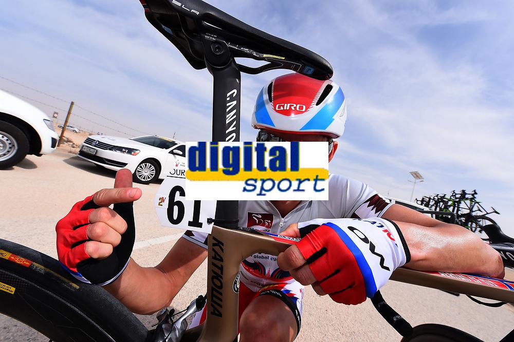 KRISTOFF Alexander (NOR) 2 Victories, Illustration, during the 14th Tour of Qatar 2015, Stage 5, Al Zubarah Fort - Madinat Al Shamal (153Km), on February 12, 2015. Photo Tim de Waele / DPPI