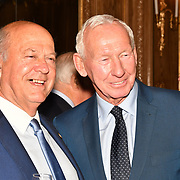 Malcolm Dent and Bob Wilson attend the 7th annual Churchill Awards honour achievements of the Over 65's at Claridge's Hotel on 10 March 2019, London, UK.