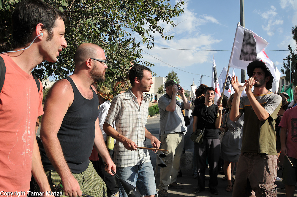 Weekly demonstration in Sheikh Jarrah against the jewish settlements in east Jerusalem.