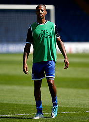 Jermaine Beckford of Bury warms up - Mandatory by-line: Matt McNulty/JMP - 16/07/2017 - FOOTBALL - Gigg Lane - Bury, England - Bury v Huddersfield Town - Pre-season friendly