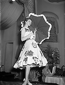 "1957 - ""Springtime in Ireland"" fashion show  at the Gresham Hotel"