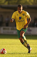 Tom Adeyemi of Norwich City during a pre season friendly at New Lodge Stadium, Billericay...Picture by Paul Chesterton/Focus Images Ltd.  07904 640267.4/8/11