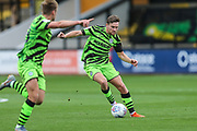 Forest Green Rovers Dayle Grubb(8) on the ball during the EFL Sky Bet League 2 match between Cambridge United and Forest Green Rovers at the Cambs Glass Stadium, Cambridge, England on 7 September 2019.