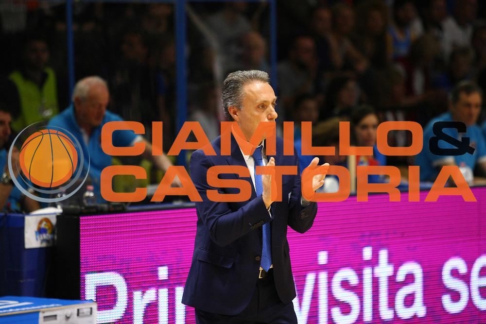 DESCRIZIONE : Cremona Lega A 2015-2016 Vanoli Cremona Enel Brindisi<br /> GIOCATORE : Piero Bucchi Coach<br /> SQUADRA : Enel Brindisi<br /> EVENTO : Campionato Lega A 2015-2016<br /> GARA : Vanoli Cremona Enel Brindisi<br /> DATA : 04/05/2016<br /> CATEGORIA : Coach<br /> SPORT : Pallacanestro<br /> AUTORE : Agenzia Ciamillo-Castoria/F.Zovadelli<br /> GALLERIA : Lega Basket A 2015-2016<br /> FOTONOTIZIA : Cremona Campionato Italiano Lega A 2015-16  Vanoli Cremona Enel Brindisi<br /> PREDEFINITA : <br /> F Zovadelli/Ciamillo