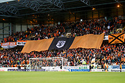 30th August 2019; Dens Park, Dundee, Scotland; Scottish Championship, Dundee Football Club versus Dundee United; Dundee United fans display