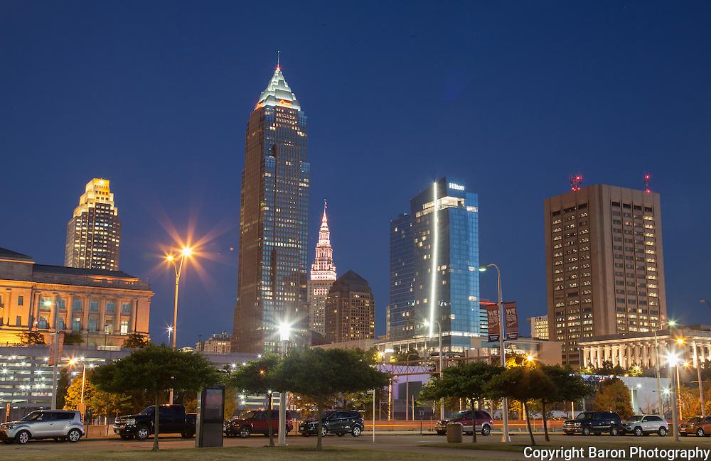 Cleveland skyline , Cleveland skyline 2016,
