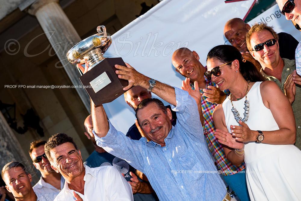 Corfu Challenge awards ceremony.
