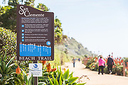 San Clemente Beach Trail at North Beach Entrance