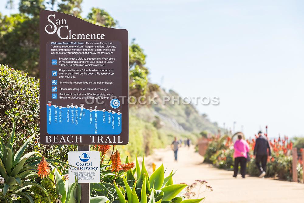 San Clemente Beach Trail at North Beach Entrance