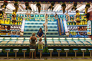 Amusement game booth, Atlantic City, New Jersey, USA