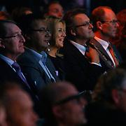 NLD/Rotterdam/20101003 - Uitreiking Edison Popprijzen 2010, luisterende Pr. Maxima