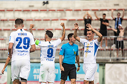 Mitja Lotrič of Celje celebrates during football match between NK Triglav and NK Celje in 7th Round of Prva liga Telekom Slovenije 2019/20, on August 25, 2019 in Sports park, Kranj, Slovenia. Photo by Vid Ponikvar / Sportida