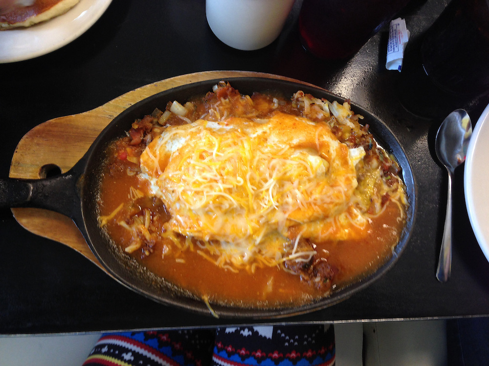 everything's bigger in texas, skillet edition.