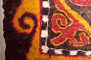 Detail of a felt rug
