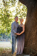 Aksana poses for her maternity portrait at Vasona Lake County Park in Los Gatos, California, on September 6, 2015. (Stan Olszewski/SOSKIphoto)