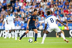 Daniel Parejo of Valencia - Mandatory by-line: Robbie Stephenson/JMP - 01/08/2018 - FOOTBALL - King Power Stadium - Leicester, England - Leicester City v Valencia - Pre-season friendly