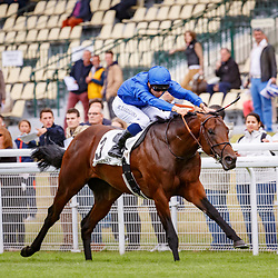 Inns Of Court (M. Barzalona) wins Prix de la Porte Maillot Gr. 3, Daeuville, France 01/07/2017, photo: Zuzanna Lupa / Racingfotos.com