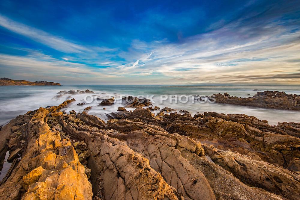 White Point Royal Palms County Beach of San Pedro California