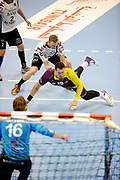 DESCRIZIONE : HandbaLL Cup Finale EHF Homme<br /> GIOCATORE : FERNANDEZ Borja<br /> SQUADRA : Nantes <br /> EVENTO : Coupe EHF Demi Finale<br /> GARA : NANTES HOLSTEBRO<br /> DATA : 18 05 2013<br /> CATEGORIA : Handball Homme<br /> SPORT : Handball<br /> AUTORE : JF Molliere <br /> Galleria : France Hand 2012-2013 Action<br /> Fotonotizia : HandbaLL Cup Finale EHF Homme<br /> Predefinita :