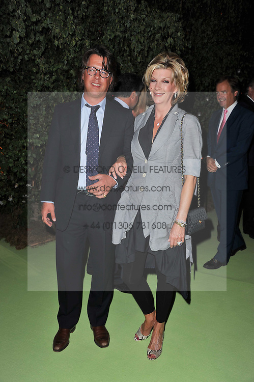 CHRISTOPHER LEACH and BARONESS BEE VAN ZUYLEN at a dinner hosted by Cartier in celebration of the Chelsea Flower Show held at Battersea Power Station, 188 Kirtling Street, London SW8 on 23rd May 2011.