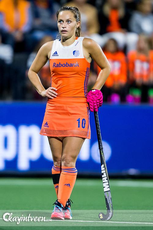 AMSTERDAM - Belgie - Nederland , Hockey , Ek Hockey 2017 dames / Euro Hockey Championships 2017 , Wagener Stadion , 20-08-2017 , Nederland speelster Kelly Jonker