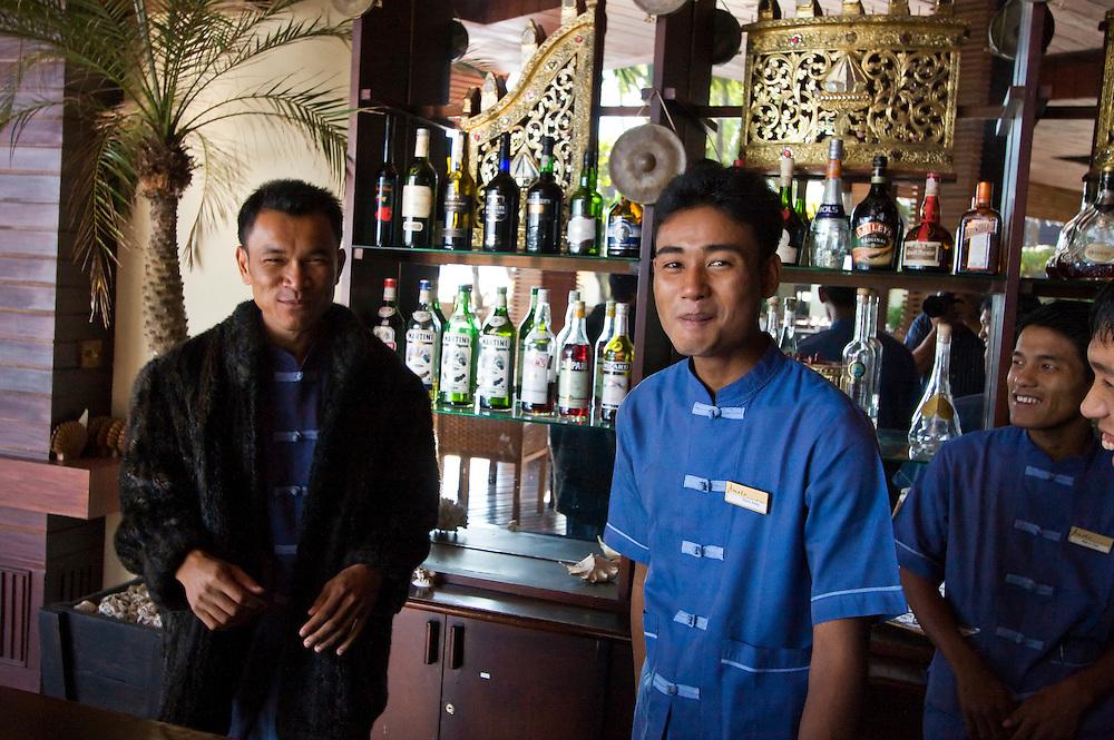 Amata Resort, Ngapali, Myanmar.