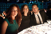 JEAN RYAN; JANET MONTGOMERY; JASON MONTGOMERY, Grey Goose Winter Ball to Benefit the Elton John AIDS Foundation. Battersea park. London. 29 October 2011. <br /> <br />  , -DO NOT ARCHIVE-© Copyright Photograph by Dafydd Jones. 248 Clapham Rd. London SW9 0PZ. Tel 0207 820 0771. www.dafjones.com.