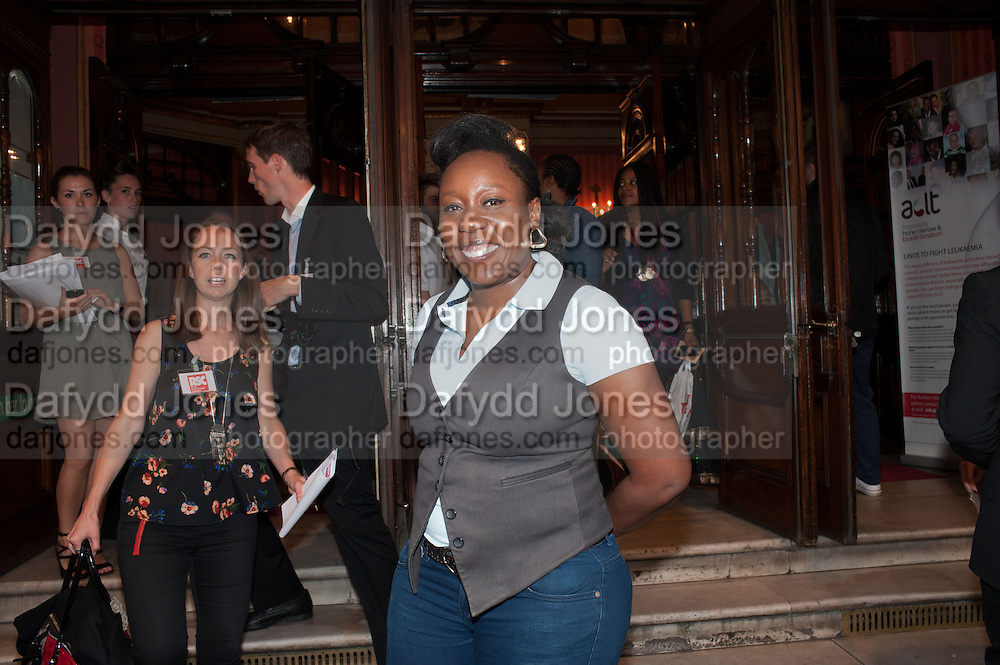 CHIZZY AKUDOLU, West End opening of RSC production of Julius Caesar at the Noel Coward Theatre on Saint Martin's Lane. After-party  at Salvador and Amanda, Gt. Newport St. London. 15 August 2012.