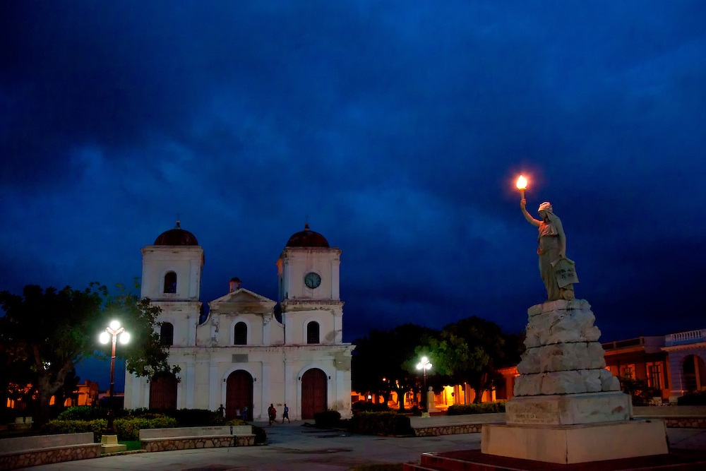 Iglesia San Fulgencio de Gibara,  Gibara, Cuba.