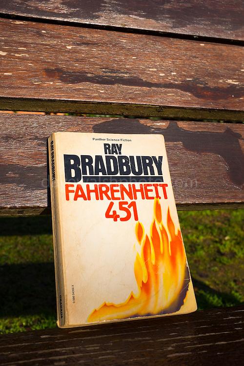 Ray Bradbury's Farenheit 451, published in 1953.