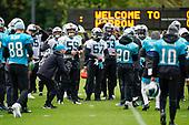 Carolina Panthers American Football Press and Training 111019