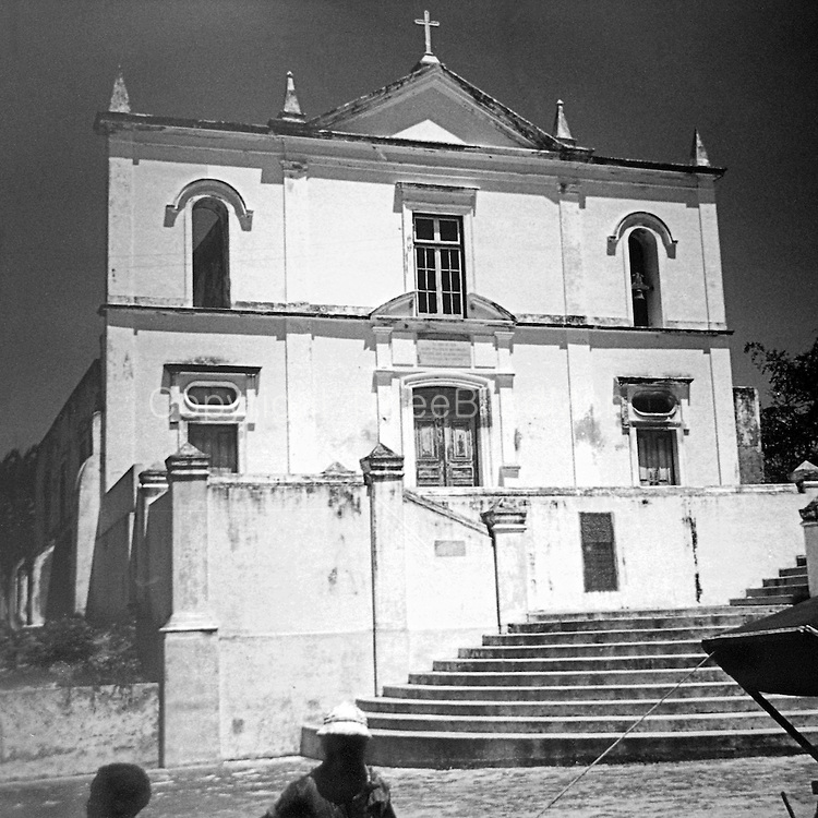 Nossa Senhora da Saúde Church in Mozambique Island, Mozambique