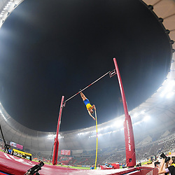 Doha, IAAF, Leichtathletik, athletics, Track and Field, World athletics Championships 2019  Doha, Leichtathletik WM 2019 Doha, 27.09-06.10.2019, .Khalifa International Stadium Doha, Armand Duplantis Schweden Stabhochsprung Männer Finale  , Fotocopyright Gladys Chai von  der Laage ..Photo by Icon Sport - --- - Khalifa International Stadium - Doha (Qatar)