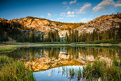 """Mud Lake Morning 1"" - Photograph shot in the early morning of Mud Lake in California's Plumas National Forest."