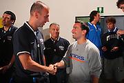 DESCRIZIONE : Bormio Raduno Collegiale Nazionale Maschile Amichevole Italia Polonia <br /> GIOCATORE : Roberto Oggioni Anthony Goenago <br /> SQUADRA : Nazionale Italia Uomini Italy <br /> EVENTO : Raduno Collegiale Nazionale Maschile <br /> GARA : Italia Polonia Italy Polonia <br /> DATA : 29/07/2008 <br /> CATEGORIA : Ritratto <br /> SPORT : Pallacanestro <br /> AUTORE : Agenzia Ciamillo-Castoria/S.Silvestri <br /> Galleria : Fip Nazionali 2008 <br /> Fotonotizia : Bormio Raduno Collegiale Nazionale Maschile Amichevole Italia Polonia <br /> Predefinita :