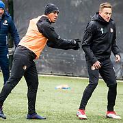 NLD/Rotterdam/20180301 - Training Feyenoord voor de bekerfinale,