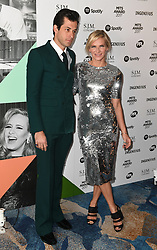 Mark Ronson and Jo Whiley arriving for the 26th Annual Music Industry Trusts Awards held at the Grosvenor House Hotel, London. Picture credit should read: Doug Peters/Empics Entertainment